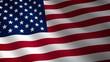 Bandera ondulante de EEUU. Bucle continuo