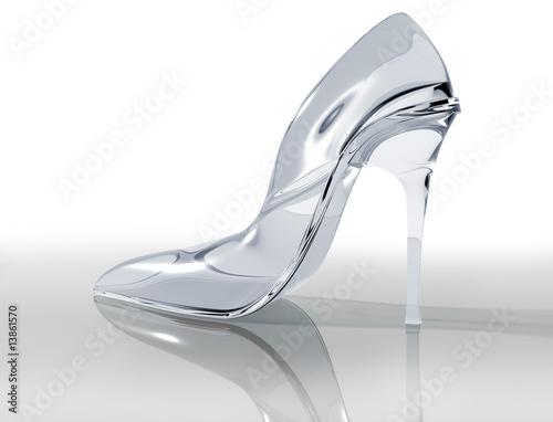 Fotografie, Obraz  Glass slipper