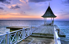 Pier At Montego Bay, Jamaica, ...