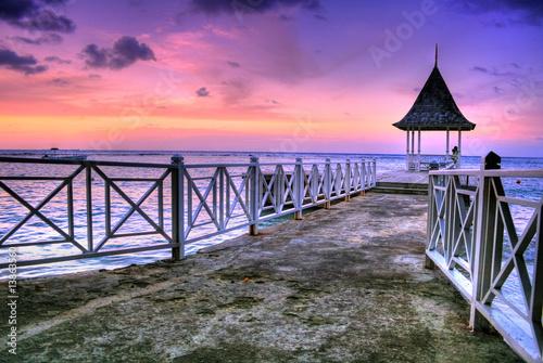 Photo  Pier at Ocho Rios, Jamaica