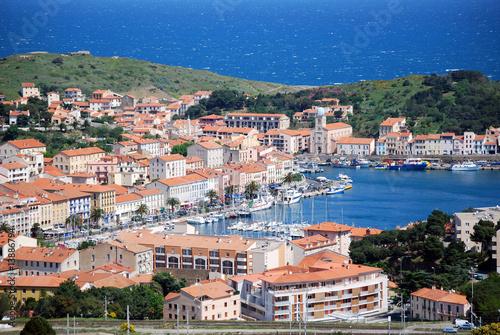 Staande foto Athene Village de Port-Vendres
