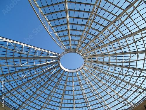 cupola museo mart rovereto a forma di ragnatela Wallpaper Mural