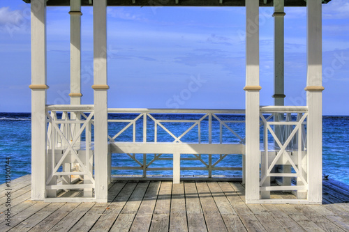 Pier at Montego Bay, Jamaica, Carribean