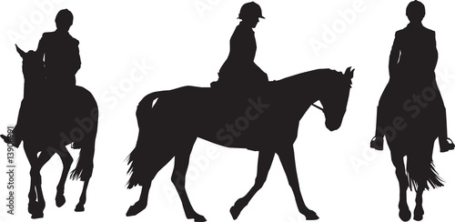 equestrian rider Poster Mural XXL