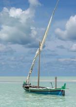 Barque De Pêcheur Des îles Maldives