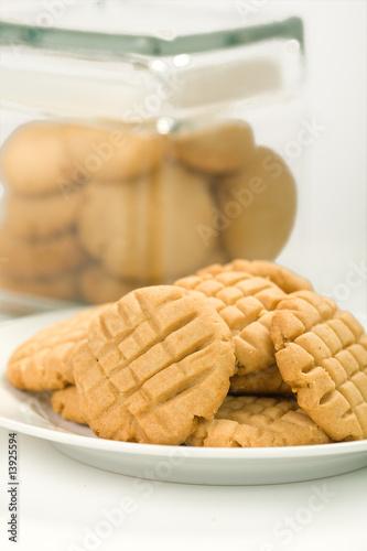 Fotografie, Obraz  Peanut butter cookies