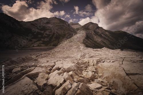 Rocky landscape Wallpaper Mural