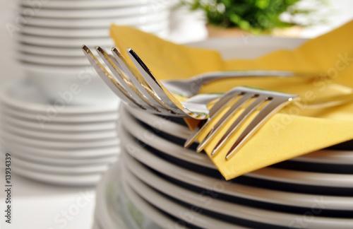 Fotografia  Geschirr und Besteck