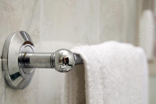 Photo asciugamano da bagno, hotel