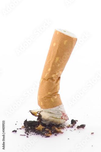 Fotografie, Obraz  cigarette écrasée
