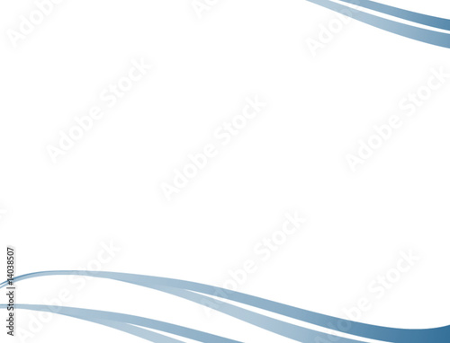 Fotografering  volute bleue