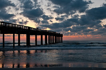 Sunrise In The Pier