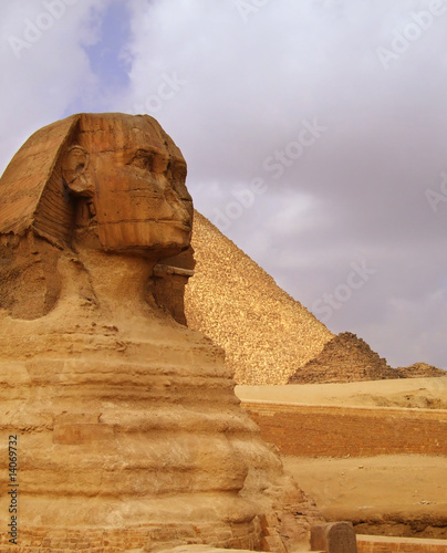 Photo Stands Egypt The Sphinx of Egypt 02