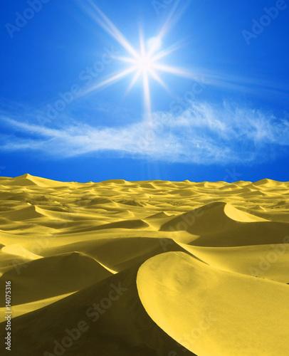 Wall Murals Algeria jaune & bleu