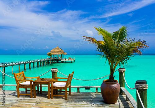 Cafe on the beach #14077352