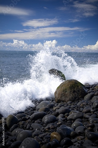 Foto-Schiebegardine Komplettsystem - bord de mer (von Philippe Gaudens)