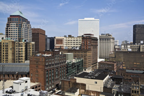 Fototapety, obrazy: Downtown Cleveland