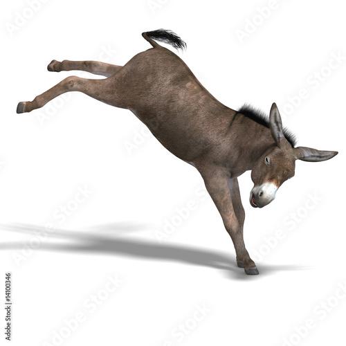 Donkey Render Tapéta, Fotótapéta