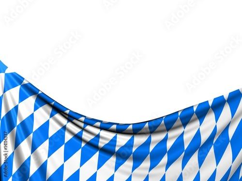Obraz na plátně bavaria flag