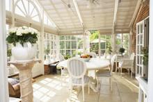 Interior Of Modern Conservatory