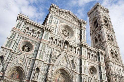 Naklejka premium Włochy Florencja katedra