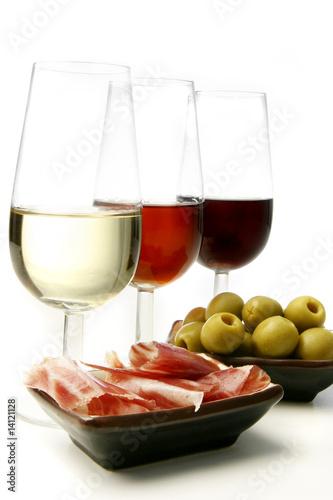 vinos de jerez y tapas