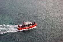 US Coast Guard Inflatible Patrol Launch