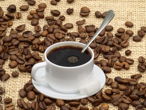 Canvas Prints Coffee beans café