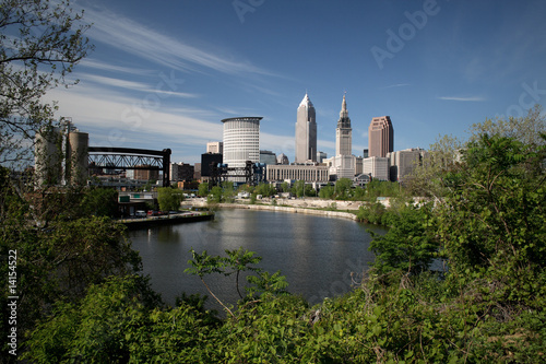 Photo  Cleveland Ohio Skyline