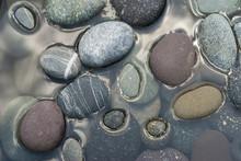 River Stones Submerging