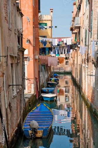 Aluminium Prints Venice Canal in Venice