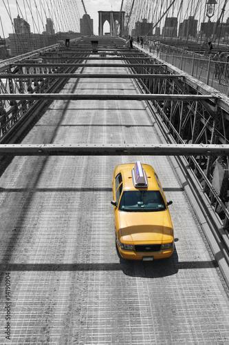 Obraz na plátně Yellow Cab