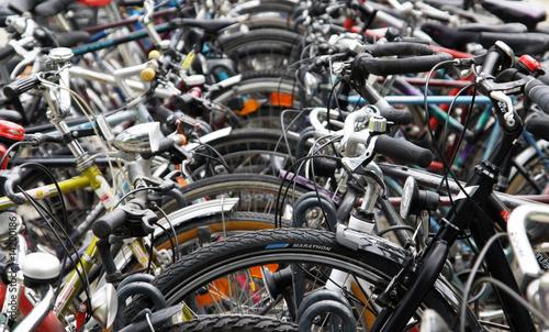 Poster Amsterdam Fahrräder - Bikes