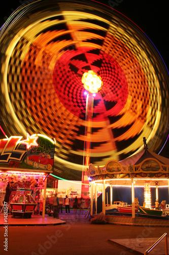 Keuken foto achterwand Carnaval Rund und rund und rund