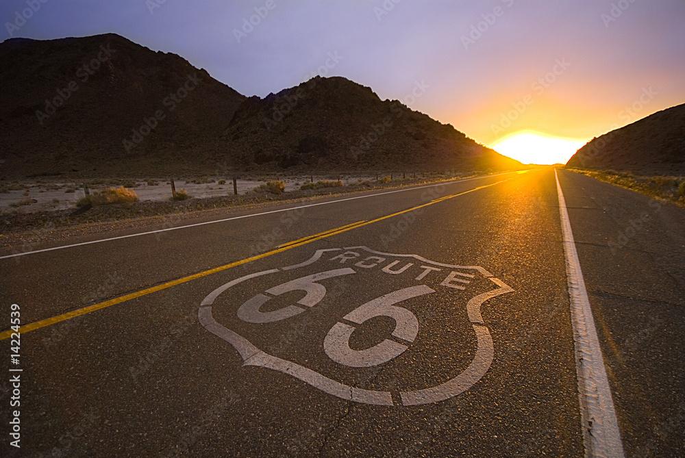 Fényképezés Historical route 66