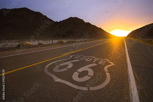 Photo  Historical route 66