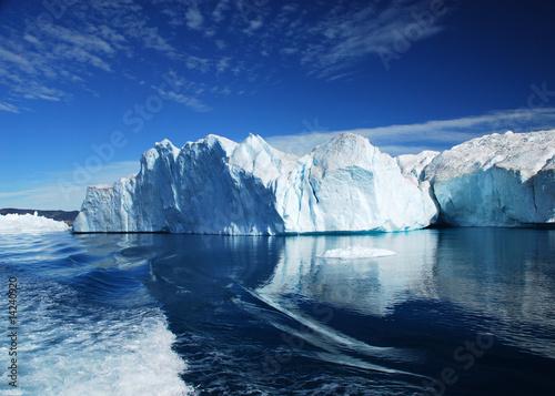 Foto auf AluDibond Glaciers Eisfjord - Discobucht - Grönland