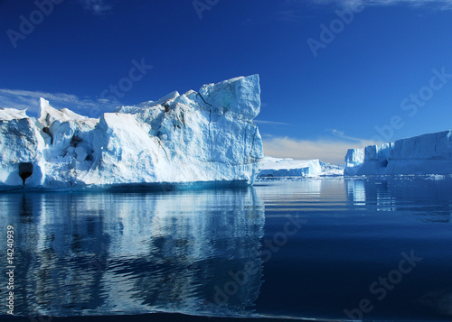 Staande foto Gletsjers Eisberge - Diskobucht - Grönland
