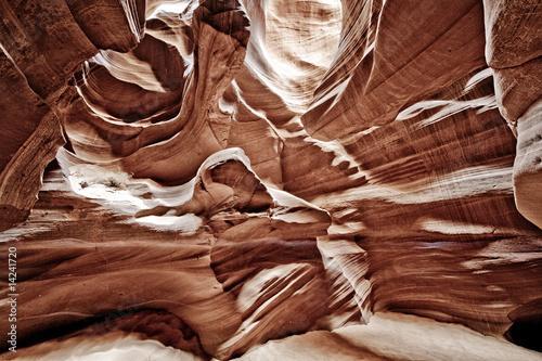 Fotografie, Obraz  inside terrain in canyons