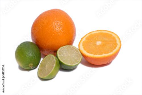 pomarańcze i limonki