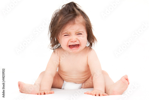 crying toddler baby Fototapet