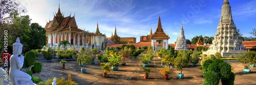 Fotobehang Bangkok Silver Pagoda - Phnom Penh - Cambodia