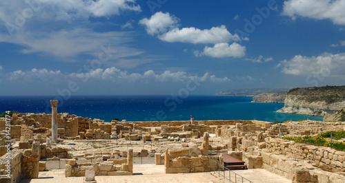 Poster Cyprus chypre site archéologique de kourion