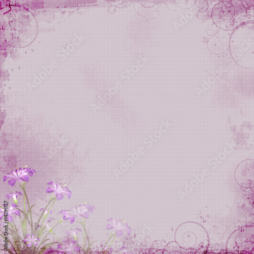 Photo  Lavender Floral Background