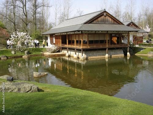 Maison Du Jardin Japonais A Hasselt Buy This Stock Photo And