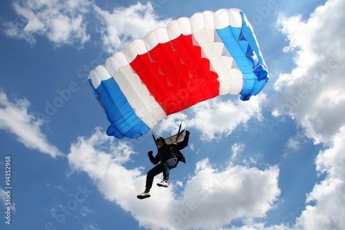 Obraz na plátně parachutist