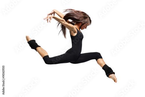 Küchenrückwand aus Glas mit Foto Tanzschule dancer