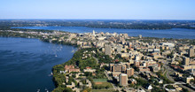 UW-Madison Campus With State C...