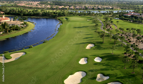 Florida Golf Course Flyover