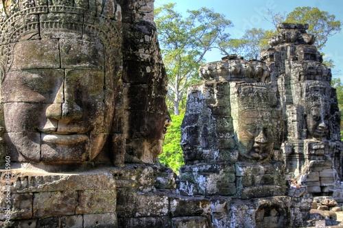 Fotomural  Wat Bayon (Angkor Wat) - Siam Reap - Cambodia / Kambodscha